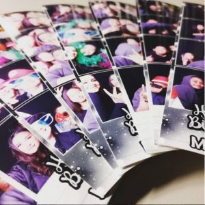JoyBooth photo booth provides instant prints