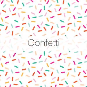 Photo Booth Backdrops - Confetti