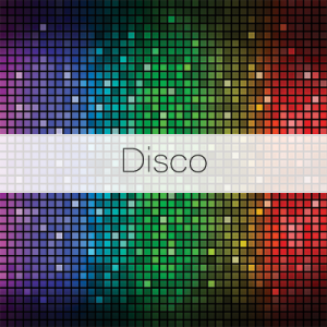 Photo Booth Backdrops - Disco