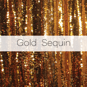 Photo Booth Backdrops - Gold Sequin